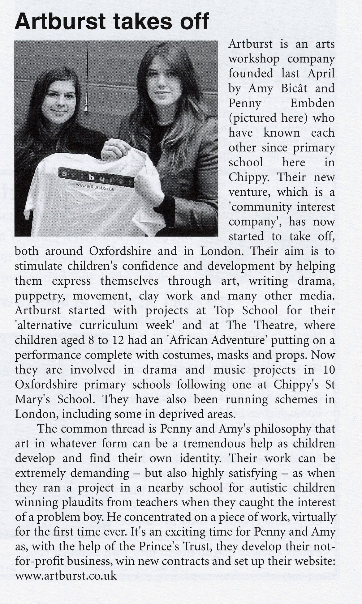 Chipping Norton News, April 2006